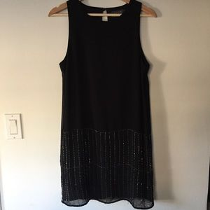 ASTR straight silhouette beaded dress Size S
